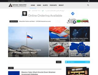 infosecindustry.com screenshot