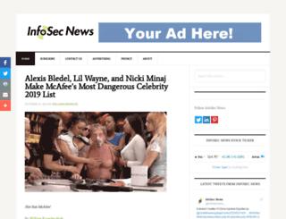 infosecnews.org screenshot