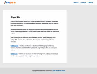 infoshine.net screenshot