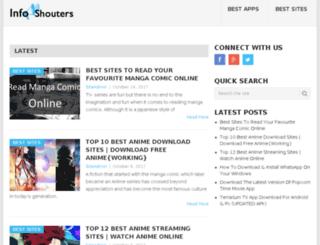 infoshouters.in screenshot