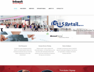 infosoft.com.ph screenshot