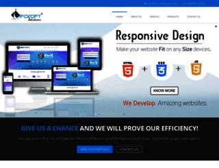 infosoftsurat.com screenshot