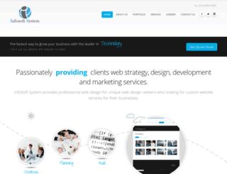infosoftsystem.com screenshot