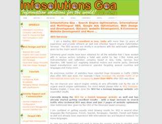 infosolutionsgoa.com screenshot