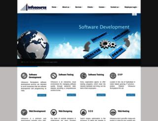 infosourcetech.com screenshot