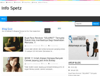 infospetz.blogspot.co.id screenshot