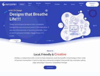 infospry.com screenshot