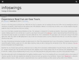infoswings.com screenshot