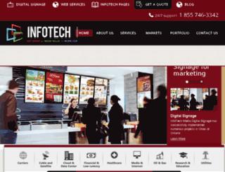 infotechmedia.com screenshot