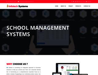 infotechsystems.in screenshot