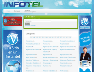 infotel.com.ar screenshot