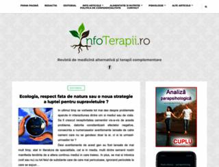 infoterapii.ro screenshot