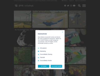 infothek.bmvit.gv.at screenshot