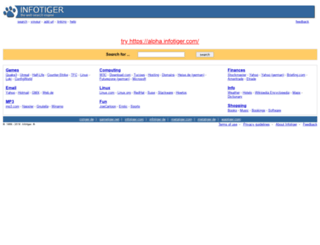 infotiger.com screenshot