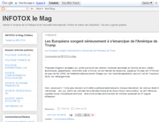 infotox.skynetblogs.be screenshot