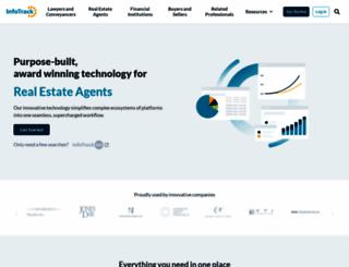 infotrack.com.au screenshot