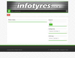 infotyres.com screenshot