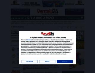 infovercelli24.it screenshot