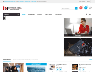 infovisionmedia.com screenshot