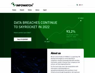 infowatch.com screenshot