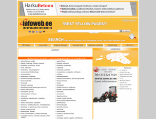 infoweb.ee screenshot