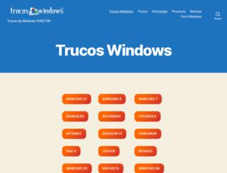 infowindows.es screenshot
