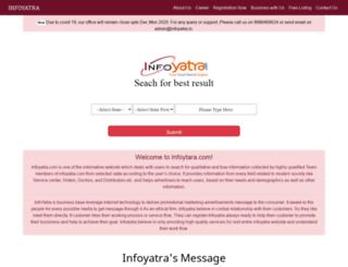 infoyatra.com screenshot