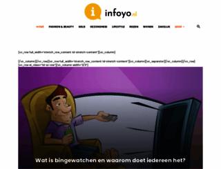 infoyo.nl screenshot