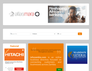 infozambia.com screenshot