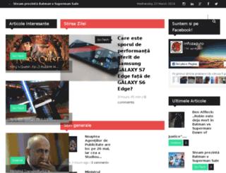 infozap.ro screenshot