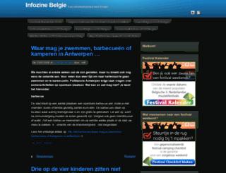 infozine.be screenshot