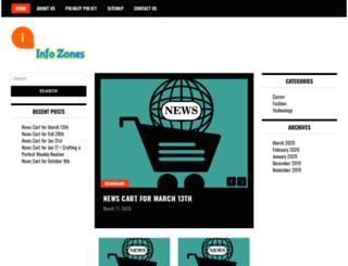 infozones.in screenshot