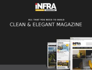 infra.orange-themes.com screenshot
