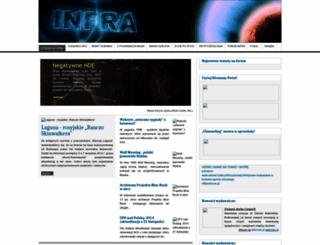 infra.org.pl screenshot