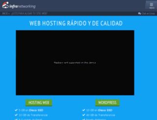 infranetdns.com screenshot