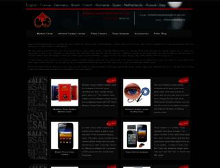 infraredmarkedcards.com screenshot