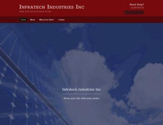 infratechindustriesinc.com screenshot