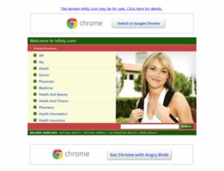 infsty.com screenshot