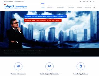 infyact.com screenshot