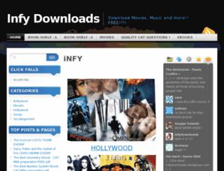 infydownloads.wordpress.com screenshot