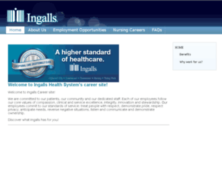 ingallshealthsystemcareers.silkroad.com screenshot