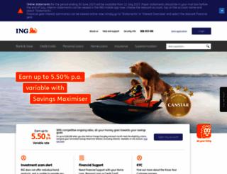 ingdirect.com.au screenshot