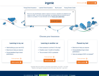 ingenie.com screenshot