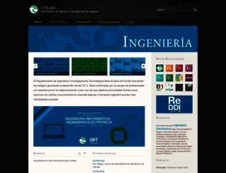 ingenieria.unlam.edu.ar screenshot