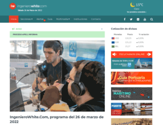 ingenierowhite.com screenshot