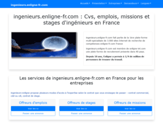 ingenieurs.enligne-fr.com screenshot
