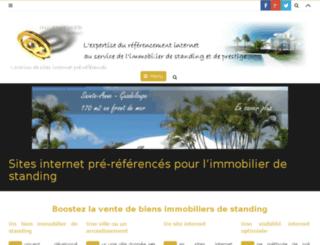 ingenieweb-immo.com screenshot