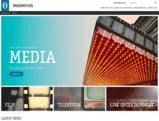 ingeniousmedia.co.uk screenshot