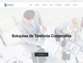 ingenium-systems.com.br screenshot