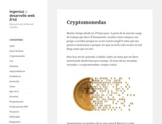 ingeniuz.com screenshot